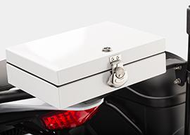 2015 Zero Police Electric Motorcycle: Pill Box