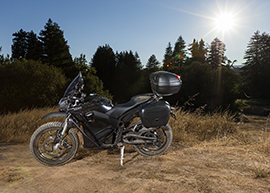2015 Zero Police Electric Motorcycle: