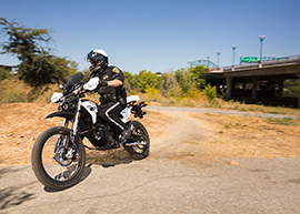 2015 Zero Police Electric Motorcycle: