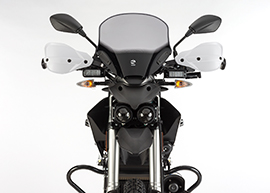 2015 Zero Police Electric Motorcycle: Front view