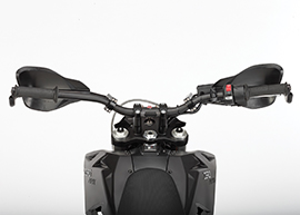 2016 Zero Police Electric Motorcycle: Dash