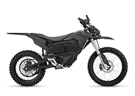 2016 Zero MMX Electric Motorcycle: Right profile, White Background