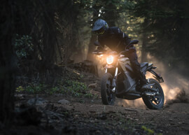 2018 Zero DS Electric Motorcycle:
