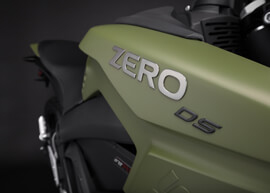 2018 Zero DS Electric Motorcycle: Tank