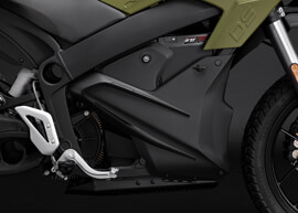 2018 Zero DS Electric Motorcycle: ZF7.2 Storage