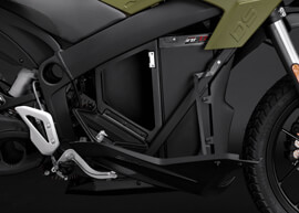 2018 Zero DS Electric Motorcycle: ZF7.2 Storage Open