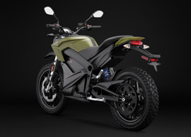 2018 Zero DS ZF13.0 Electric Motorcycle: Left Angle, Rear
