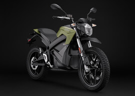 2018 Zero DS ZF13.0 Electric Motorcycle: Right Angle