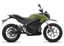 2018 Zero DS ZF13.0 Electric Motorcycle: Right Profile