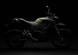 2018 Zero DS ZF13.0 Electric Motorcycle: Silhouette
