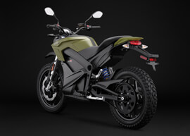 2018 Zero DS ZF14.4 Electric Motorcycle: Left Angle, Rear