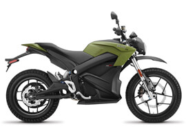 2018 Zero DS ZF14.4 Electric Motorcycle: Right Profile
