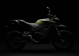 2018 Zero DS ZF14.4 Electric Motorcycle: Silhouette