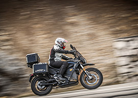 2019 Zero Motorcycles DSR Black Forest Edition: