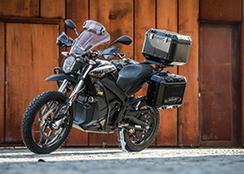 2018 Zero Motorcycles DSR Black Forest Edition: