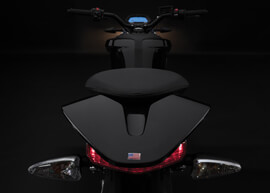 2018 Zero DSR Electric Motorcycle: Tail