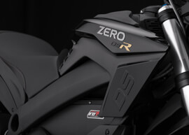 2018 Zero DSR Electric Motorcycle: Tank