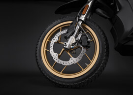 2018 Zero DSR Electric Motorcycle: Wheel