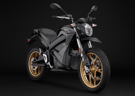 2018 Zero DSR Electric Motorcycle: Angle Right