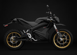 2018 Zero DSR Electric Motorcycle: Profile Right