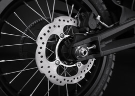 2018 Zero FX Electric Motorcycle: Rear Brake