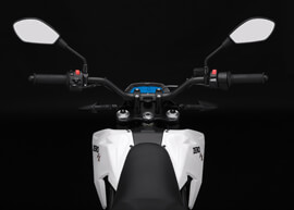 2018 Zero FX Electric Motorcycle: Rider View