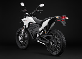 2018 Zero FX Electric Motorcycle: Angle Left