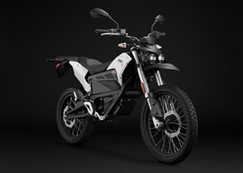 2018 Zero FX Electric Motorcycle: Angle Right