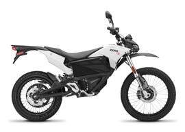 2018 Zero FX Electric Motorcycle: Profile Right, White Background