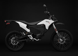2018 Zero FX Electric Motorcycle: Profile Right