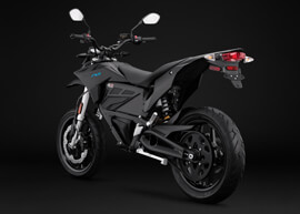 2018 Zero FXS Electric Motorcycle: Angle Left