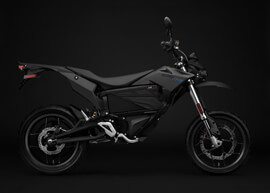 2018 Zero FXS Electric Motorcycle: Profile Right