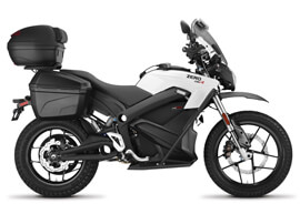 2018 Zero DSRP Electric Motorcycle: Right Profile, White Background
