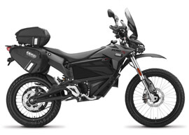 2018 Zero FXP Electric Motorcycle: Right Profile, White Background