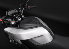 2018 Zero S Electric Motorcycle: Storage Tank