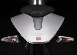 2018 Zero S Electric Motorcycle: Tail