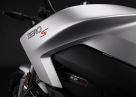 2018 Zero S Electric Motorcycle: Tank
