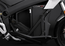 2018 Zero S Electric Motorcycle: ZF7.2 Storage, Open