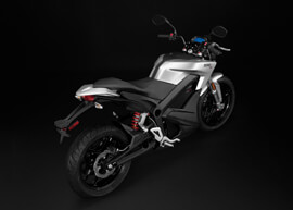 2018 Zero S Electric Motorcycle: Above