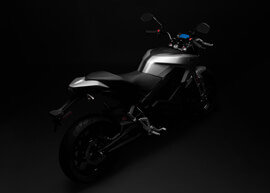 2018 Zero S Electric Motorcycle: Silhouette Above