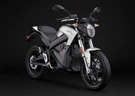 2018 Zero S Electric Motorcycle: Angle Right