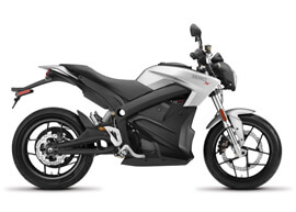2018 Zero S Electric Motorcycle: Profile Right, White Background