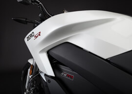 2018 Zero SR Electric Motorcycle: Tank