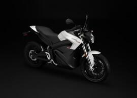 2018 Zero SR Electric Motorcycle: Above