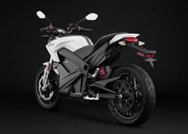 2018 Zero SR Electric Motorcycle: Angle Left