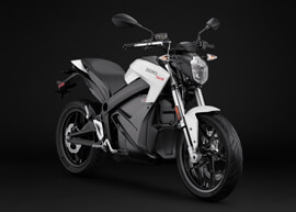 2018 Zero SR Electric Motorcycle: Angle Right