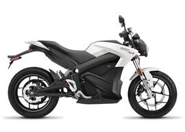 2018 Zero SR Electric Motorcycle: Profile Right, White Background