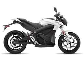 2018 Zero SR Electric Motorcycle: Profile Right, White Background