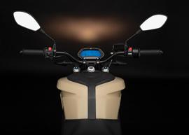 2019 Zero DS Electric Motorcycle: Dash