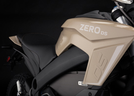 2019 Zero DS Electric Motorcycle: Tank Side